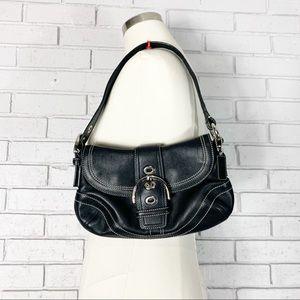 Coach Black Mini Soho Buckle Shoulder Bag